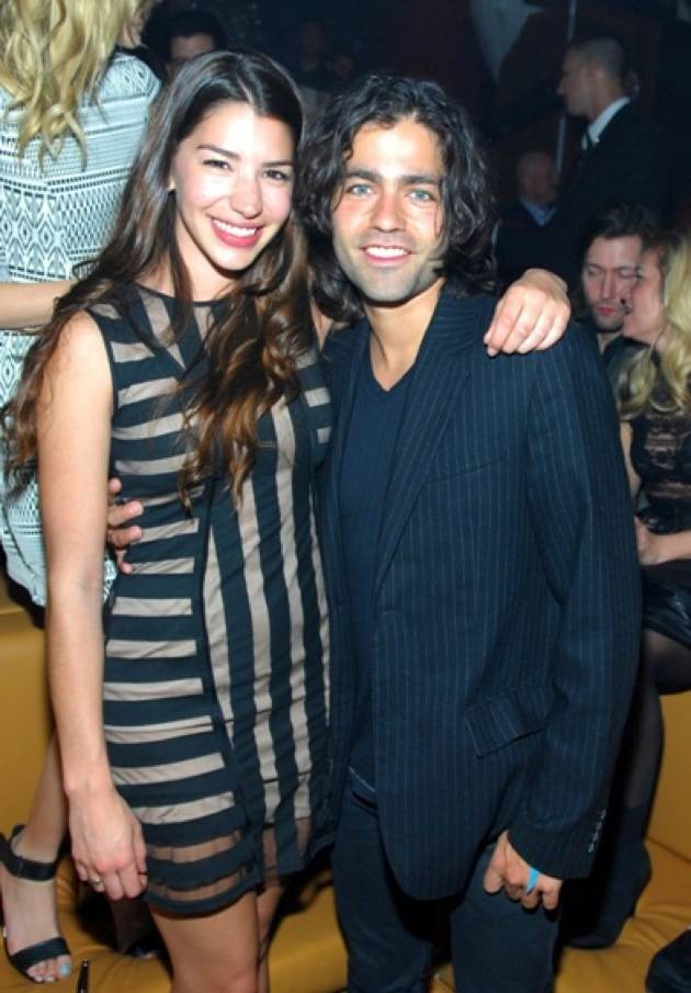 Adrian Grenier and Jamie Gray Hyder party at Hyde. Photos: Bryan Steffy, Getty/WireImage