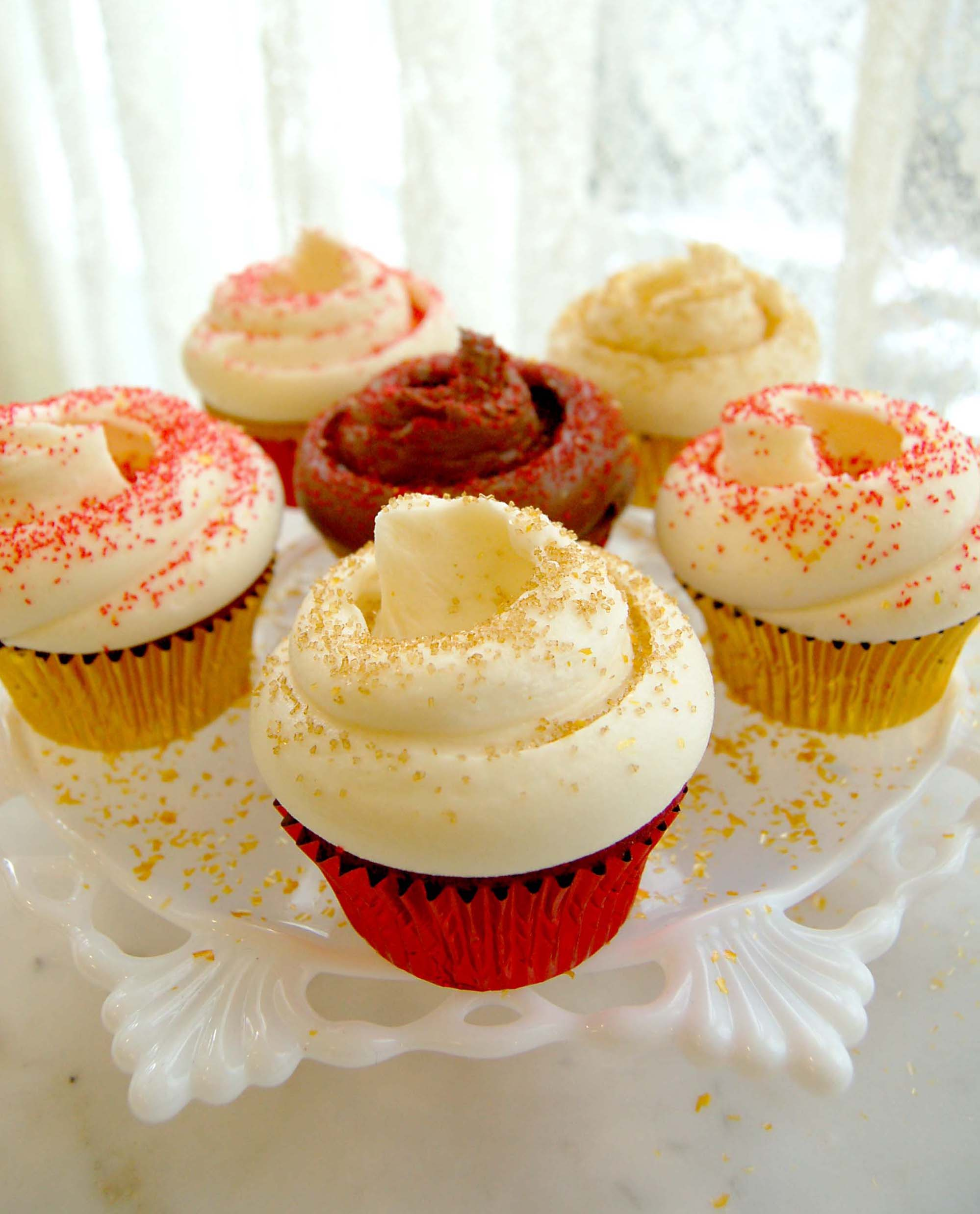 Magnolia's Chinese New Year Cupcakes