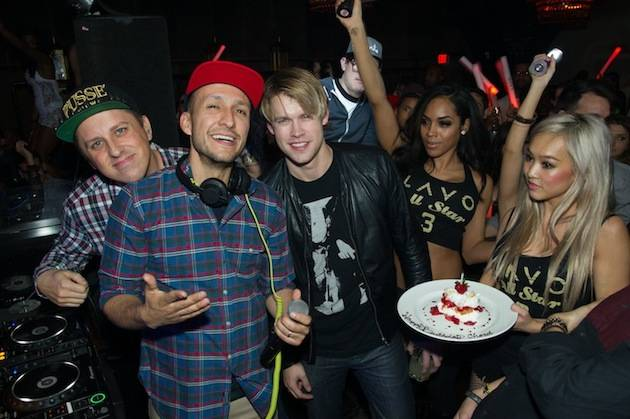 """Glee"" actor Chord Overstreet celebrates his birthday at Lavo. Photos: Al Powers/Powers Imagery"