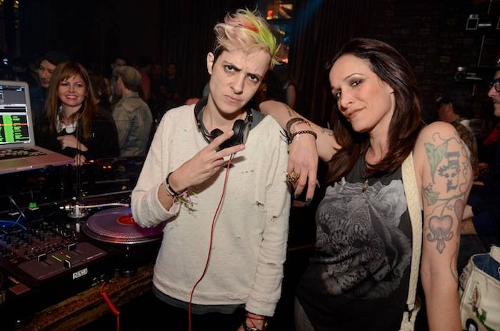 Samantha Ronson at Marquee. Photos: Karl Larson/Powers Imagery