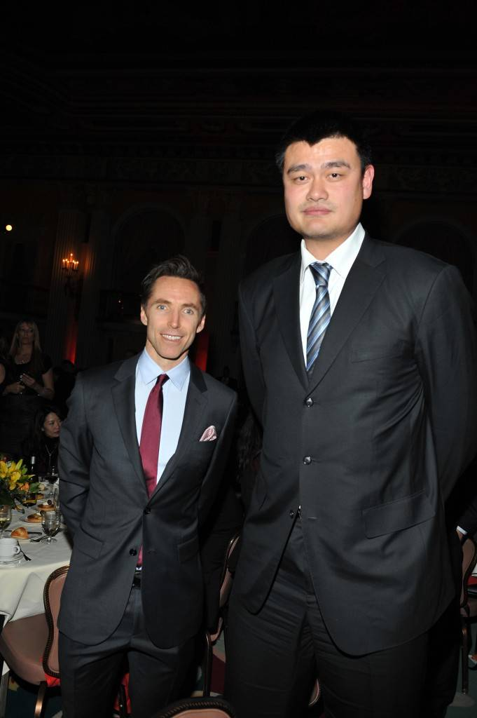 Girard-Perregaux And Asia Society Honor NBA Great Yao Ming With Steve Nash