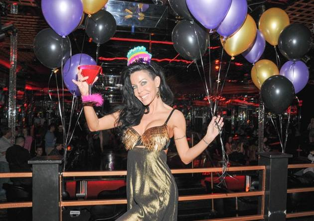 Tabitha Stevens celebrates her 43rd birthday at Crazy Horse III. Photos: Scott Harrison