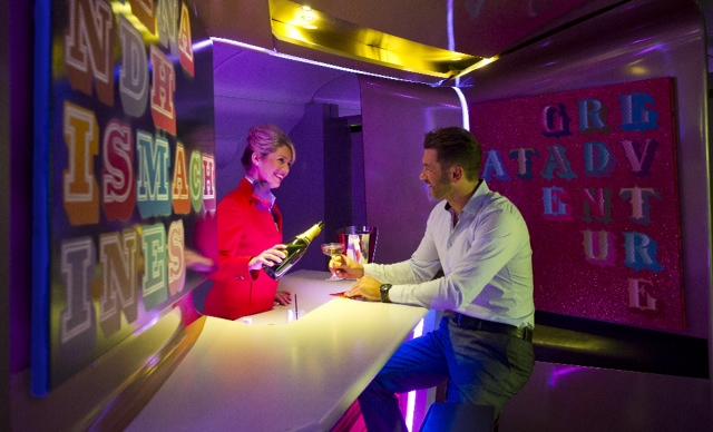Virgin Atlantic Gallery in the Air 1