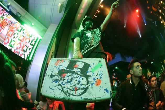 Alec Monopoly at XS. Photos: Danny Mahoney/XS Nightclub