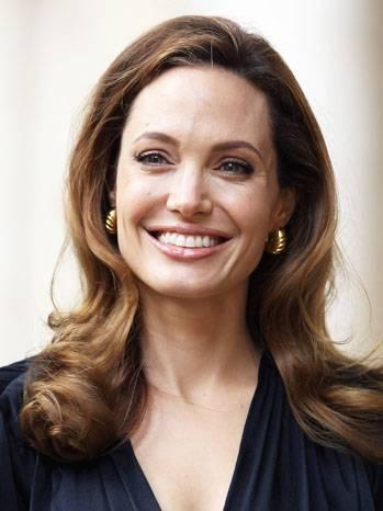 Actress Angelina Jolie arrives to meet g
