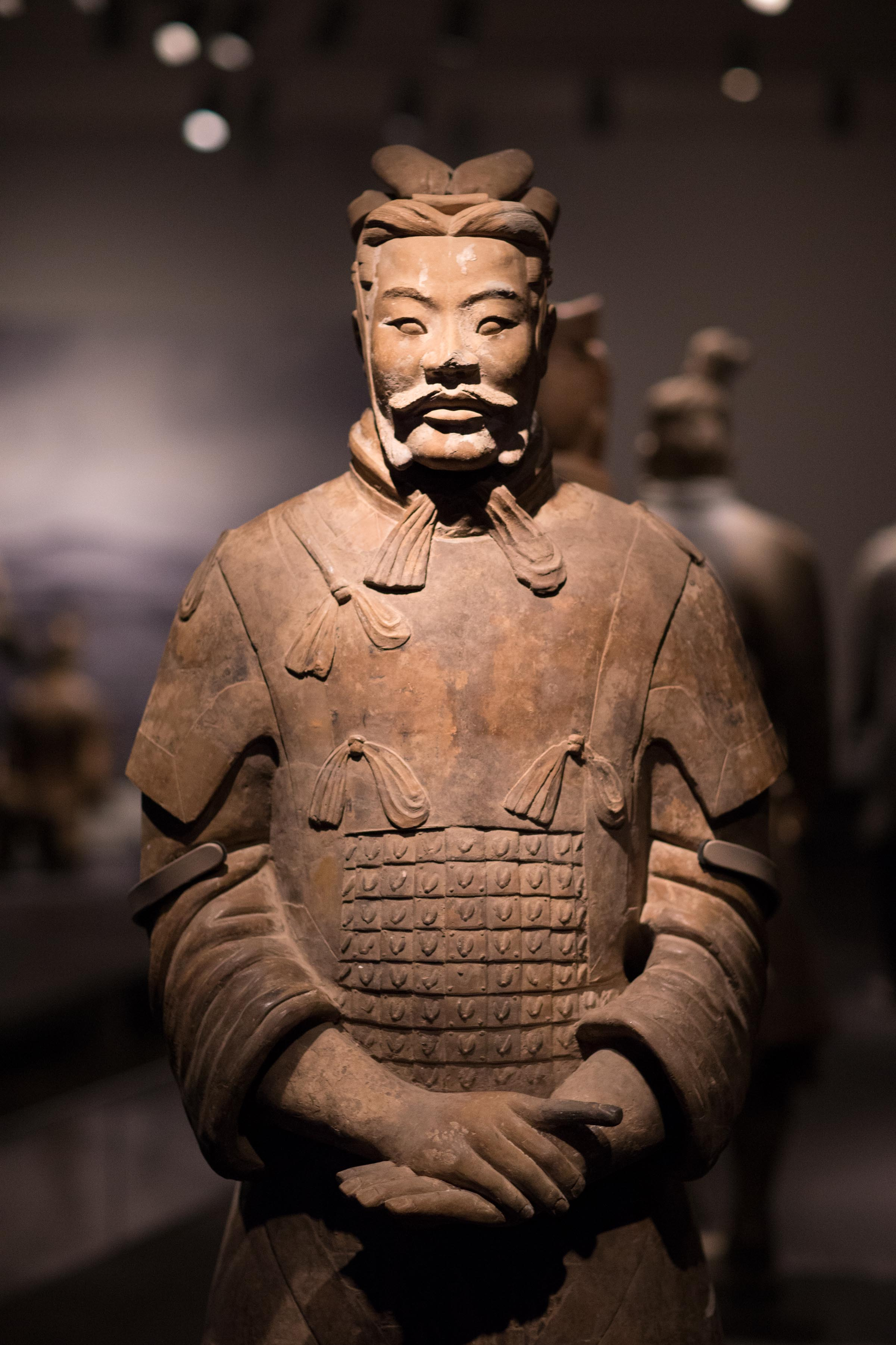 Terracotta Warriors Body Terracotta Warrior From The