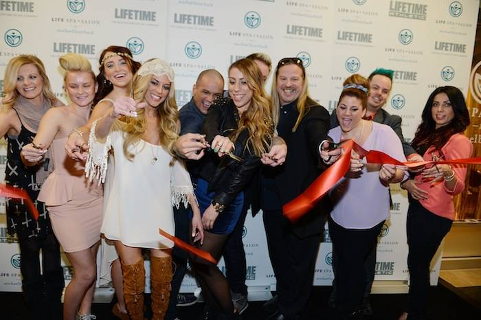 Shanna Moakler and Robin Leach host the grand opening of Michael Boychuck's LifeSpa + Salon. Photos: Denise Truscello/WireImage