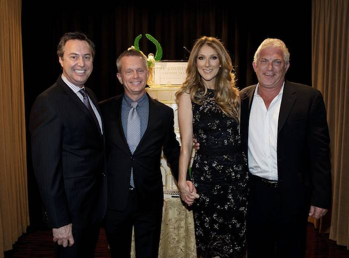 Celine Dion celebrates the 10th anniversary of the Colosseum at Caesars Palace. Photos: Denise Truscello/WireImage