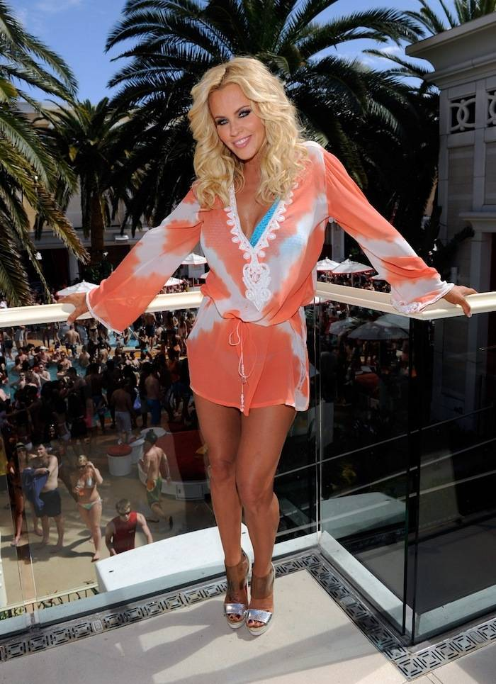 Jenny McCarthy at Encore Beach Club. Photos: David Becker/WireImage