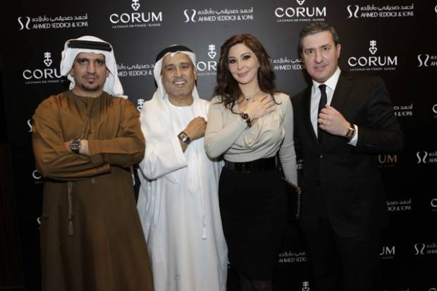 Corum_exposition_Dubai_Mall_Mohammed_Abdulmagied_Seddiqi_VP_Sales_Retail_Abdul_Hamied_Seddiqi_Vice_Chairman_Elissa_Khoury_and_Anotnio_Calce-620x413