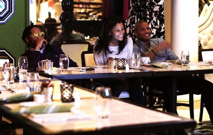 Lil Jon, Claudia Jordan and actor Redaric Williams. Photos: Aaron Garcia