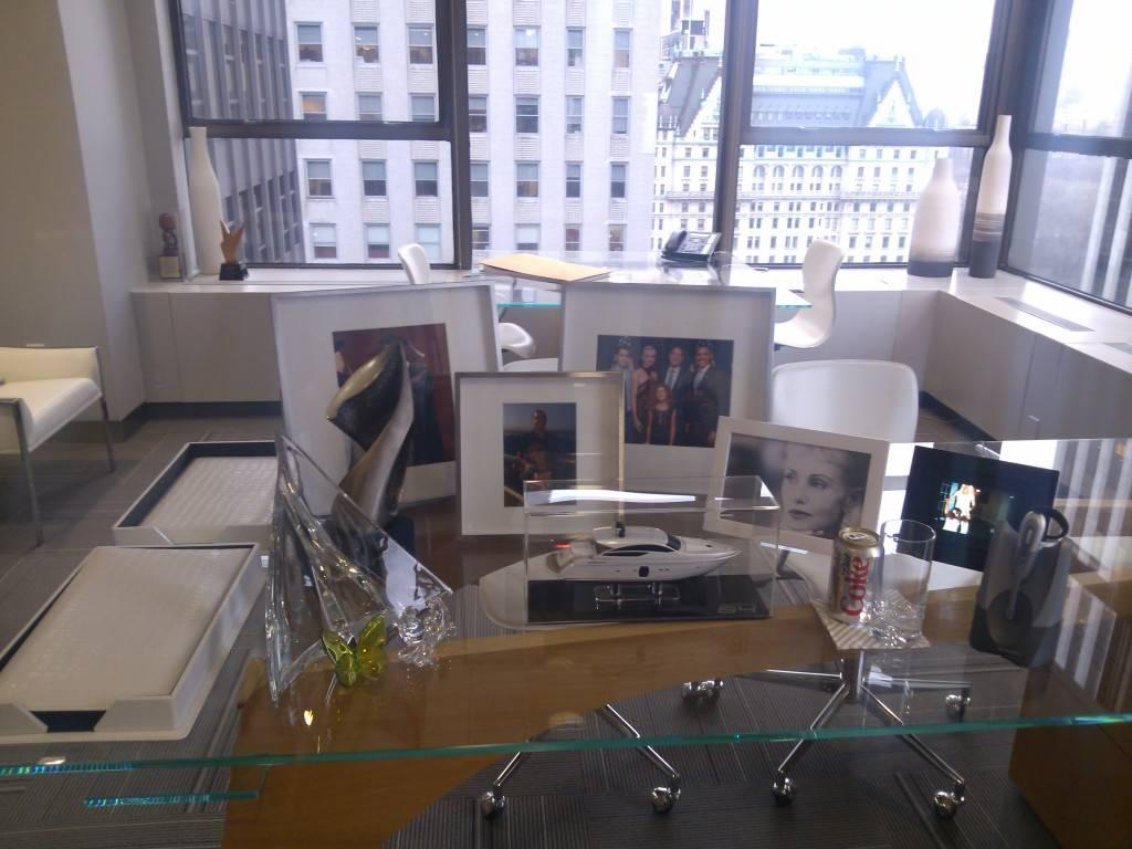 Don Peebles desk