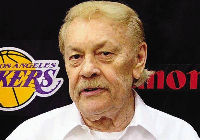 Fa rewell Jerry Buss