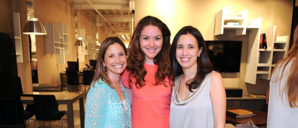 Fashionably Conscious Co-Founder Marcia Martinez with Iris Kolaya, Erica Guzman  .850