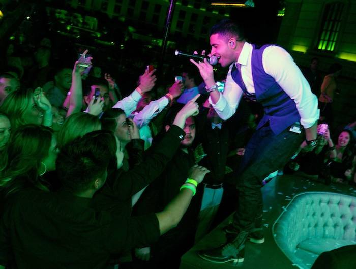 Jay Sean performs at Chateau. Photos: David Becker/WireImage