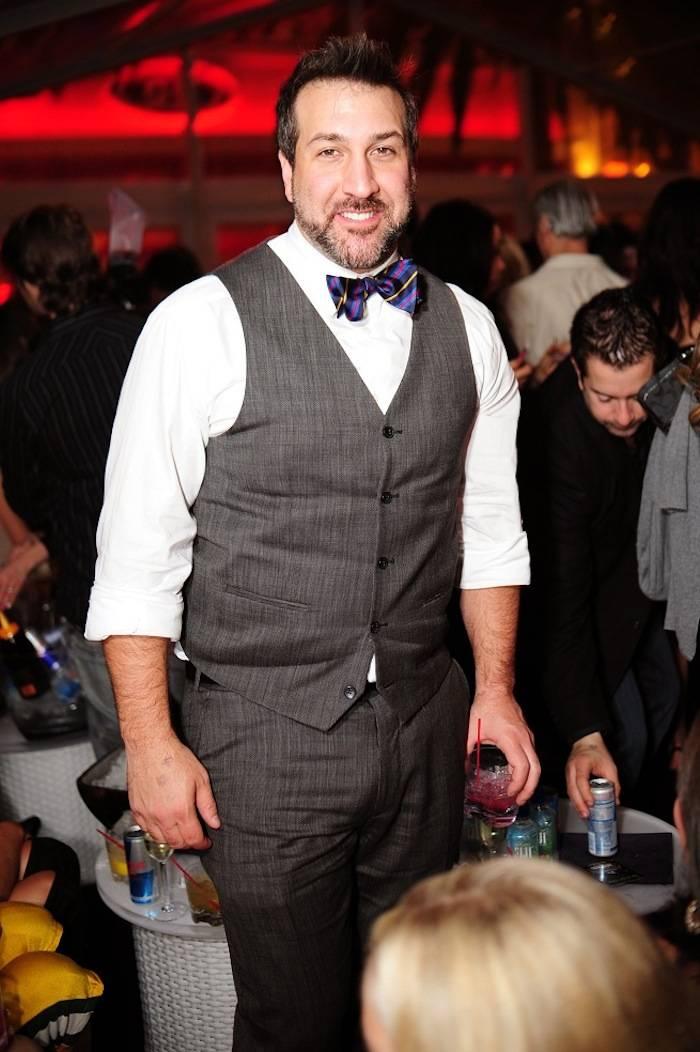 Joey Fatone at Surrender Nightclub. Photos: Aaron Garcia