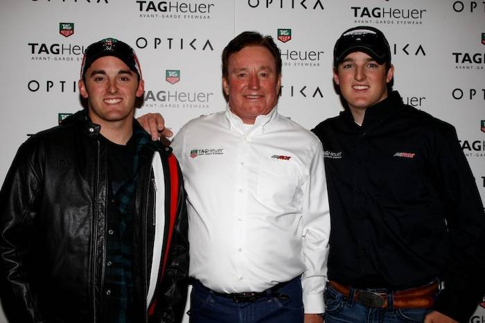 Richard Childress, Austin Dillon and Ty Dillon at Optica. Photos: Action Sports Photography Inc.