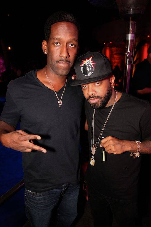 Shawn Stockman and Jermaine Dupri. Photos: Danny Mahoney/Tryst