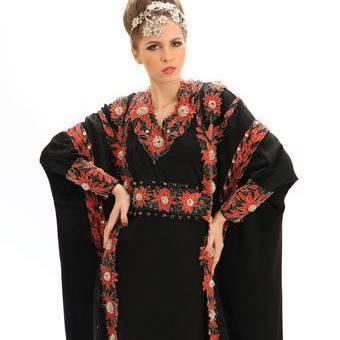 red abaya