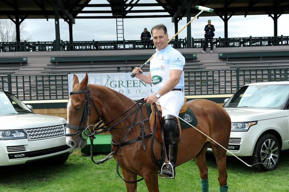 Michael A. Carrazza attends the Land Rover media preview of Sentebale Royal Salute Polo Cup hosted by Greenwich Polo Club at Greenwich Polo Club on April 18, 2013 in Greenwich, Connecticut.  (Photo by Craig Barritt/Getty Images for Land Rover)