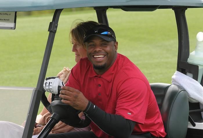 Ken Griffey Jr. plays in the Michael Jordan Celebrity Invitational Golf Tournament at Shadow Creek. Photo: Las Vegas News Bureau, Darrin Bush