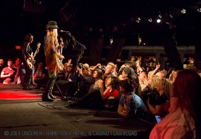 Orianthi plays for a packed house in Vinyl.