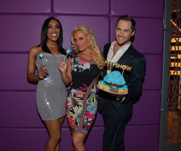 Cheaza, Coco Austin and Josh Strickland