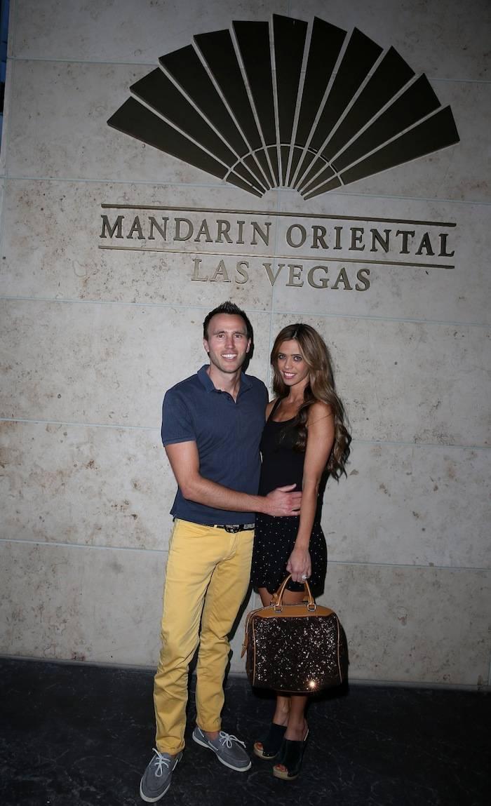 Doug and Lydia McLaughlin at Mandarin Oriental. Photos: Judy Eddy