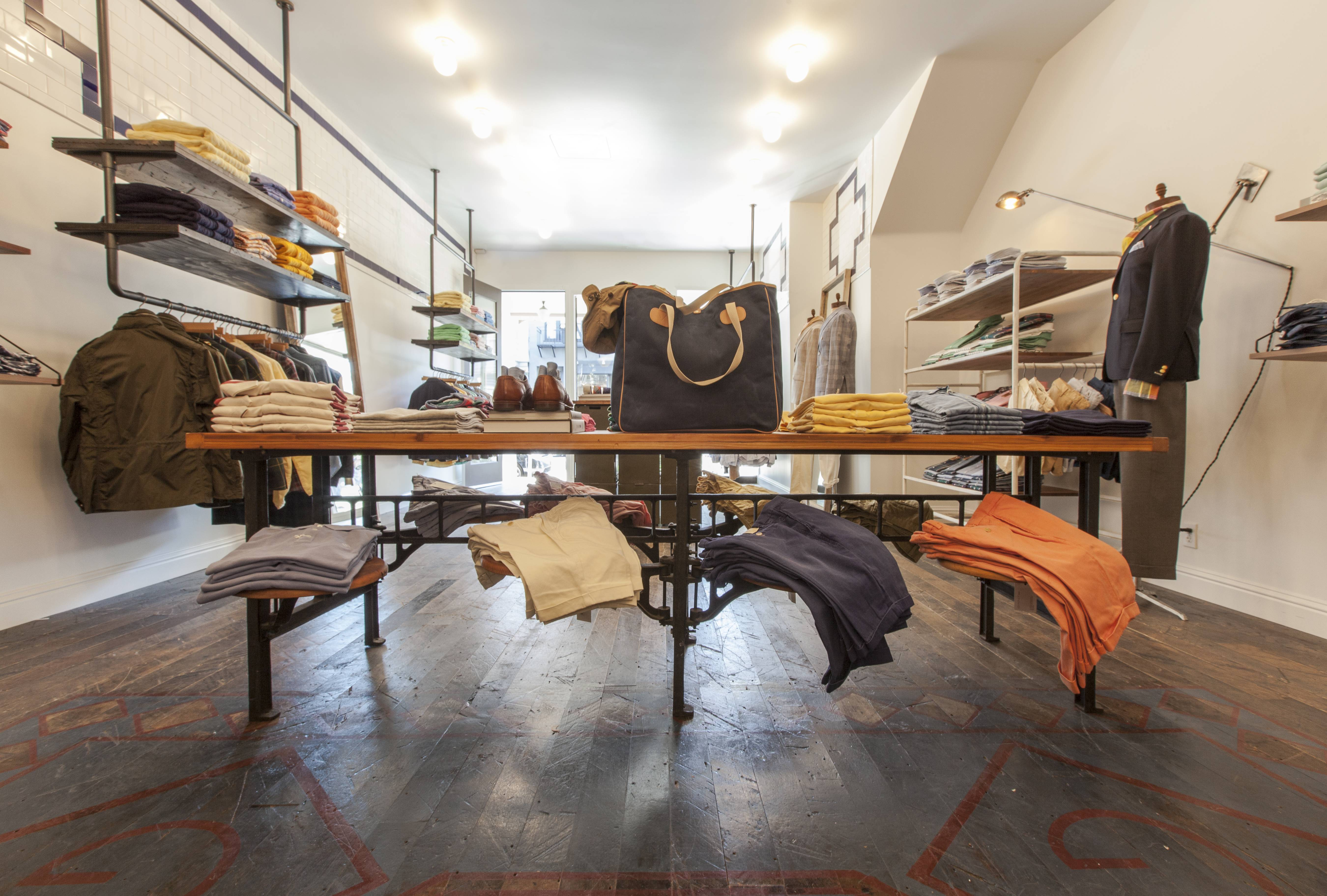 Souvent Gant Opens New Store in Hayes Valley LJ33