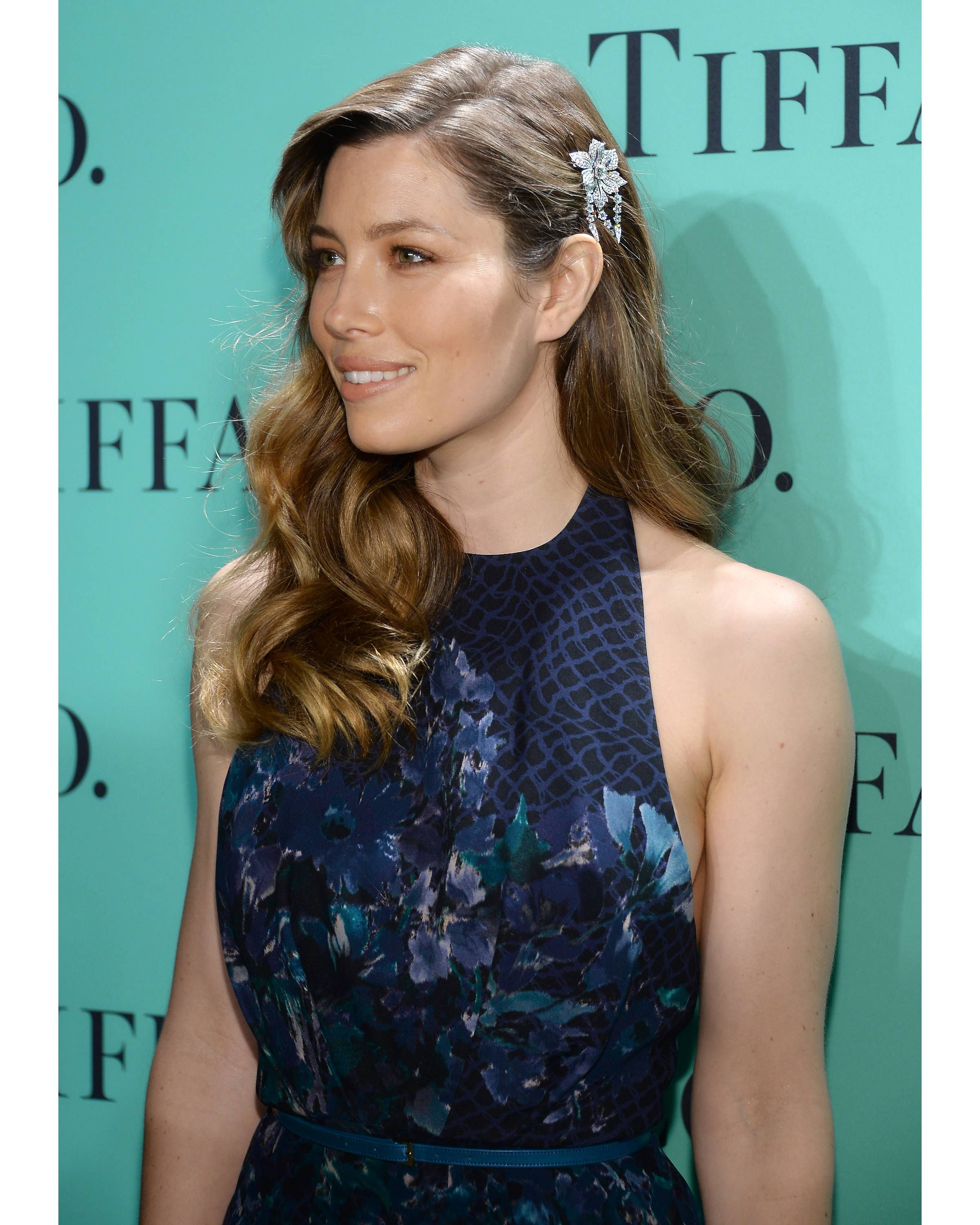 Jessica Biel at the Tiffany & Co. Blue Book Ball  Credit: Getty Images