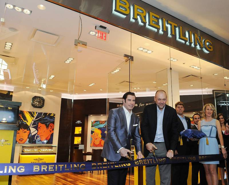 Breiting Boutique Orlando & John Travolta Host Grand Opening Event
