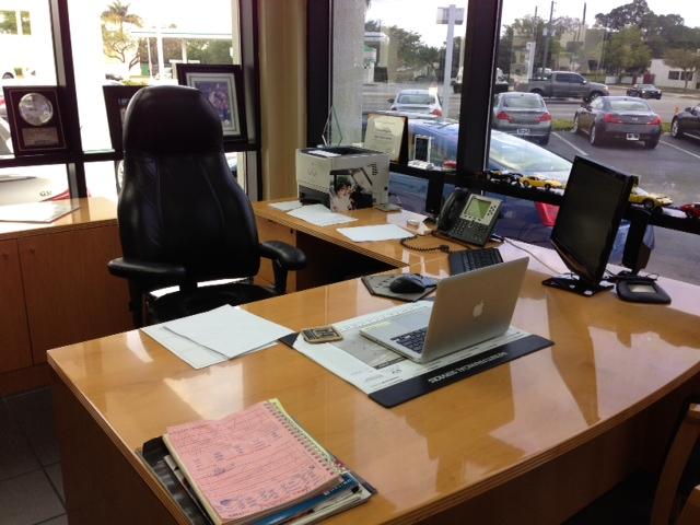 Larry Zinn Desk 2