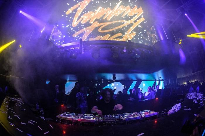 Tommy Trash performs at Hakkasan. Photos: Al Powers/Powers Imagery LLC