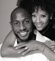 Tracy & Alonzo Mourning