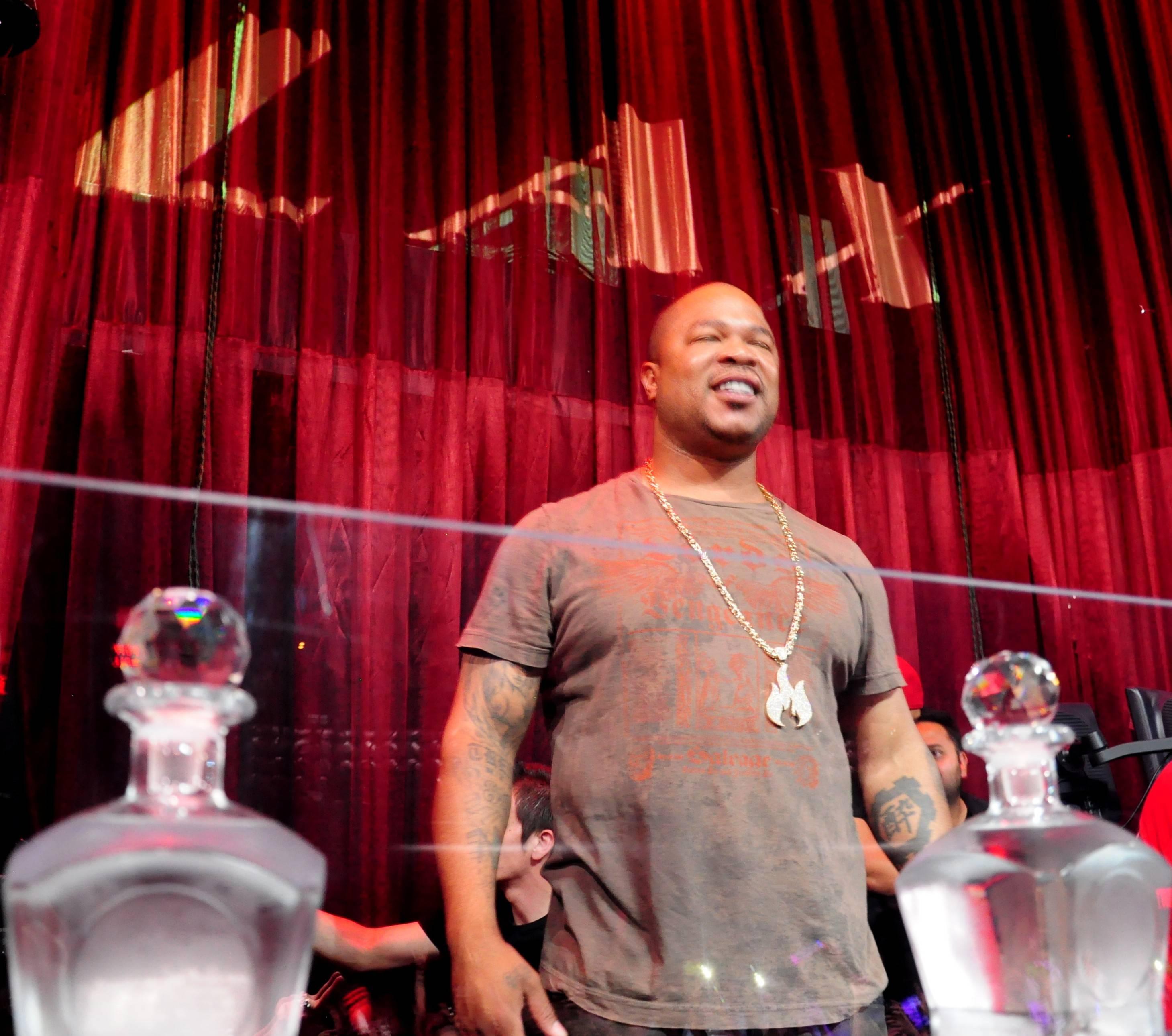 Xzibit at LAX Nightclub. Photos: Toby Acuna/SpyOn Vegas