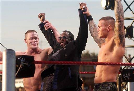 Sean Combs, John Cena,  Randy Orton