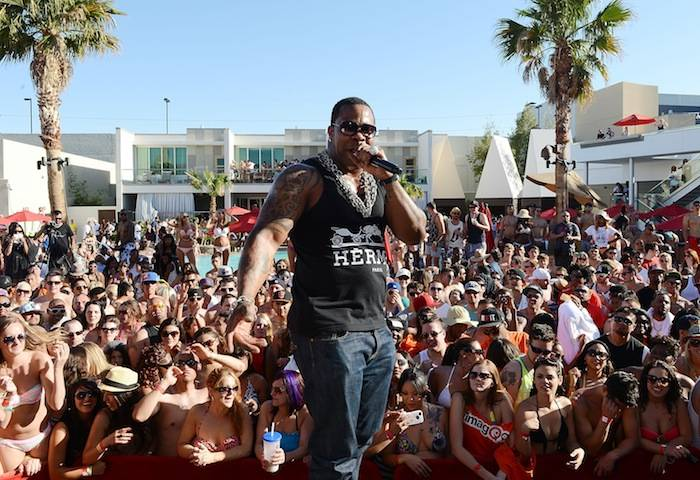 Busta Rhymes launches the return of Ditch Weekends at the Palms. Photos: Denise Truscello/WireImage