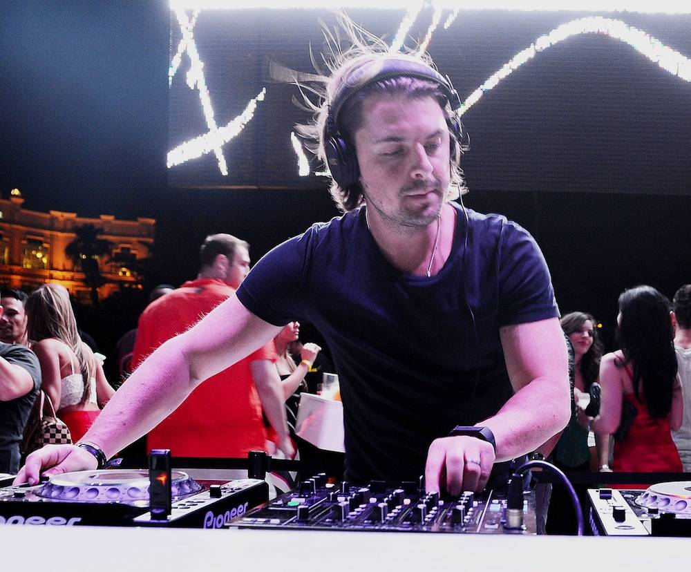 Axwell performs at Ecliplse at Daylight Beach Club. Photos: Denise Truscello/WireImage