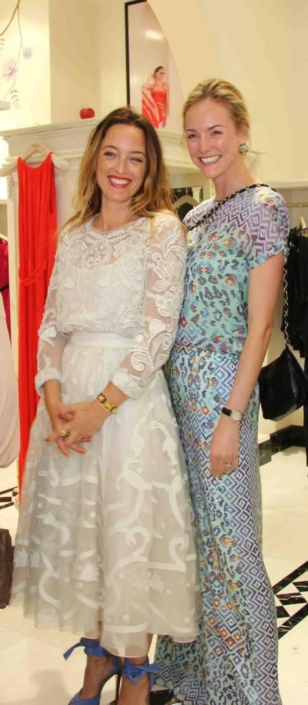 2. Alice Temperley & Madeleine Macey