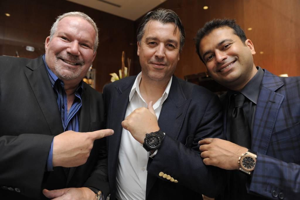 Ken Gorin, Rick de la Croix and Kamal Hotchandani
