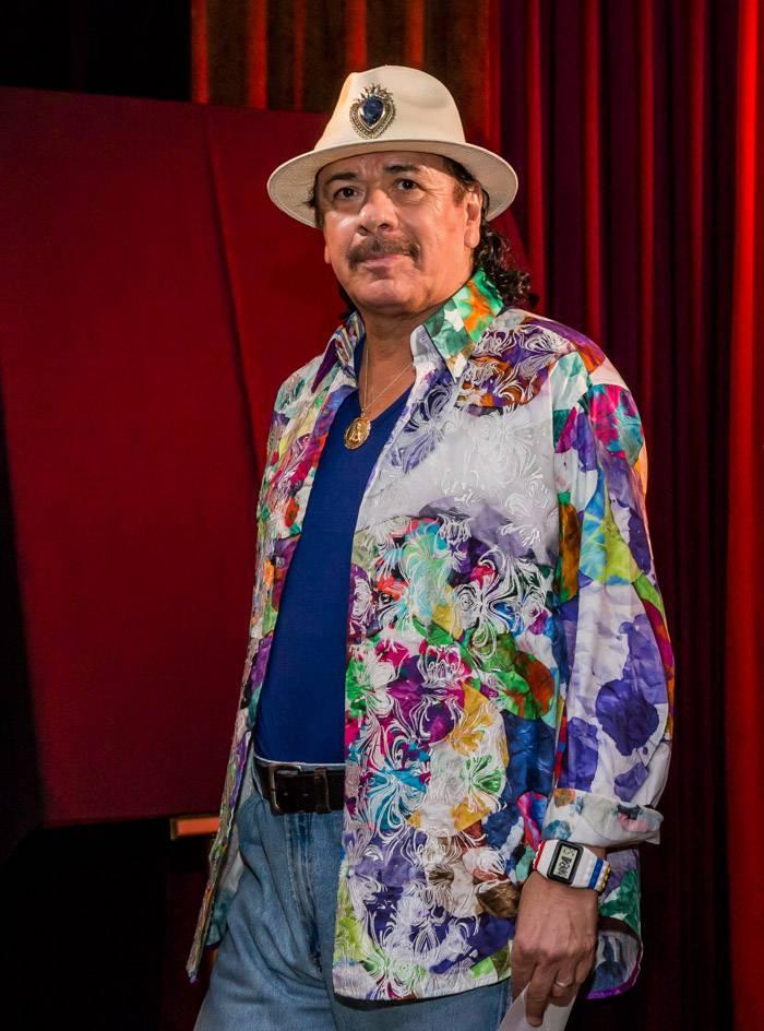 Carlos Santana. Photos: Erik Kabik