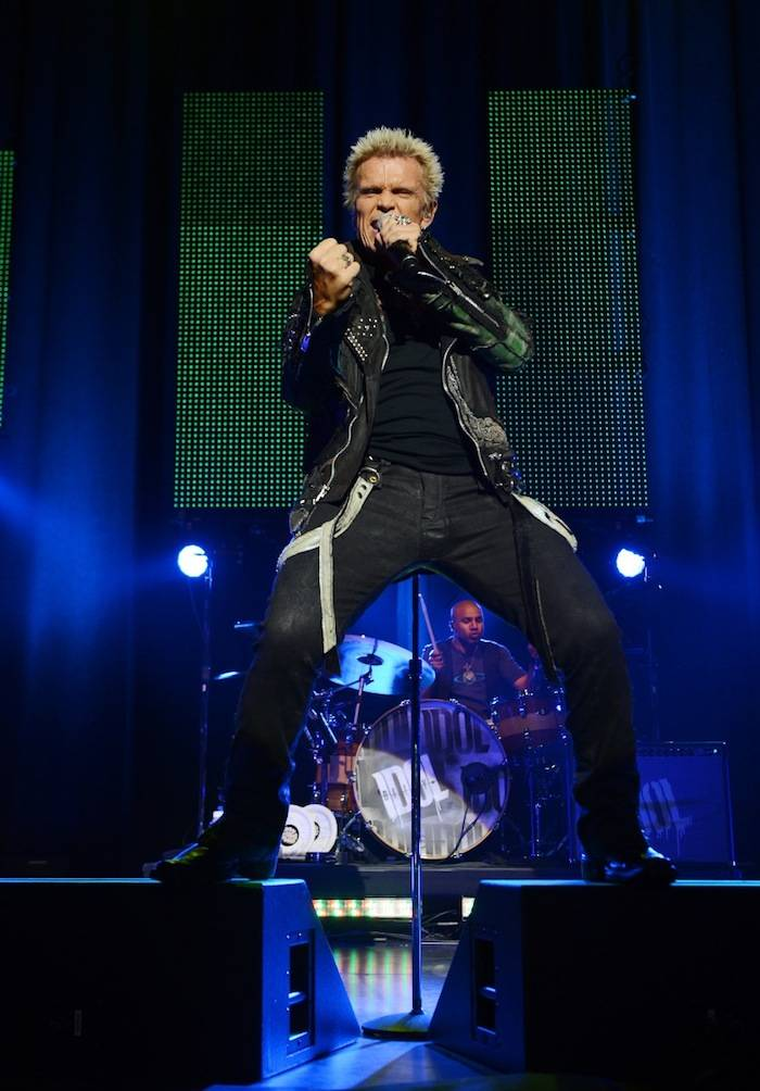 Billy Idol plays the Pearl at the Palms. Photos: Denise Truscello/WireImage