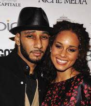 "Alicia Keys and Kasseem ""Swizz Beatz"" Dean"