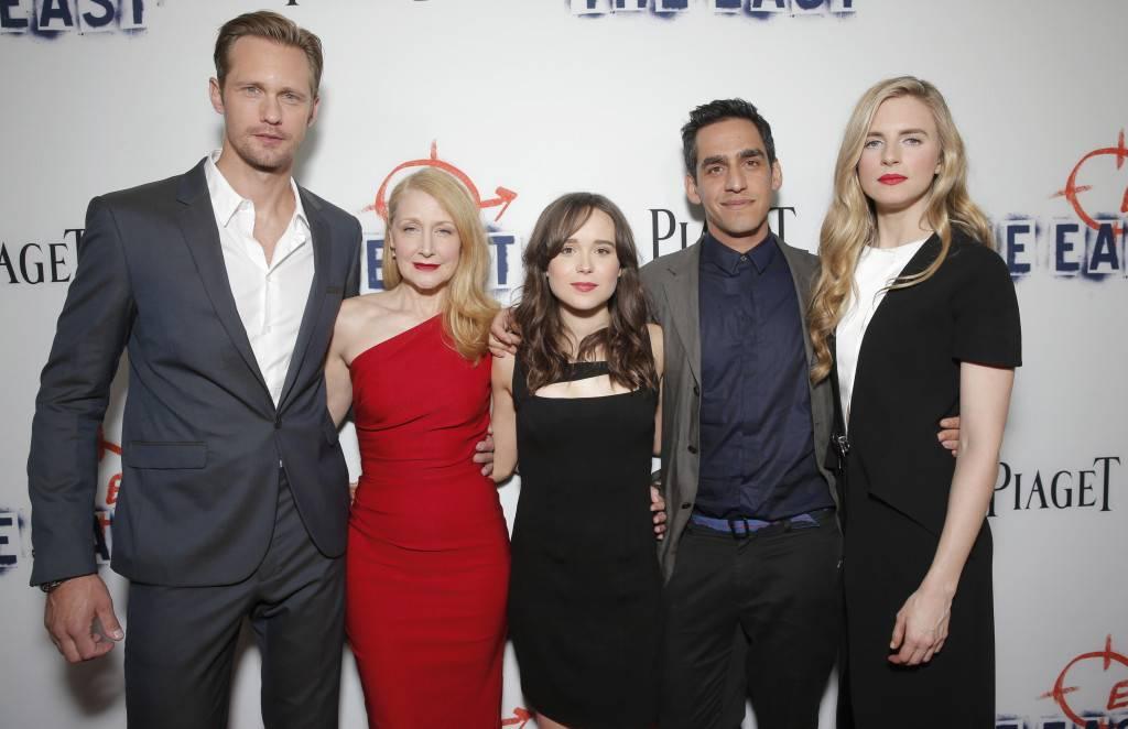 Alexander Skarsgard, Patricia Clarkson, Ellen Page, Zal Batmanglij, Brit Marling