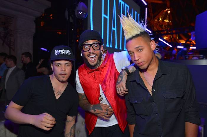 Travie McCoy at Chateau Nightclub & Gardens. Photos: Bryan Steffy/WireImage