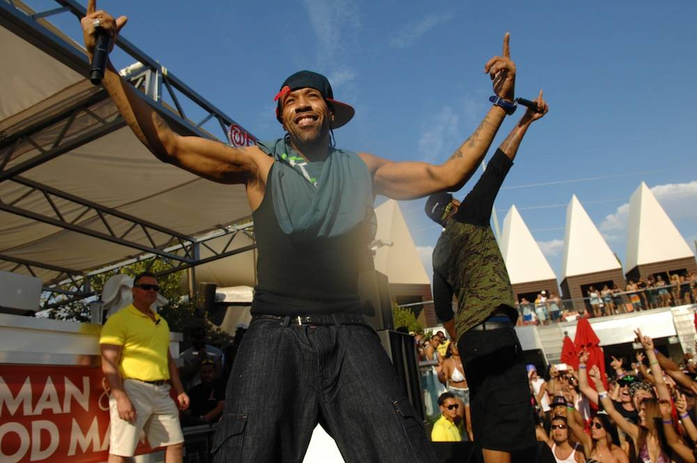 Redman and Method Man perform at the Palms Pool. Photos: Bryan Steffy/WireImage