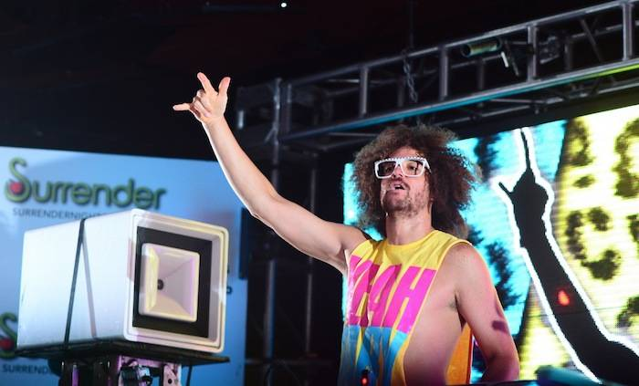 Redfoo at Surrender Nightclub. Photos: Aaron Garcia