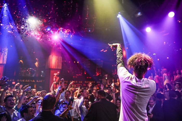 Danny Brown performs at Tao. Photos: Brenton Ho, Powers Imagery