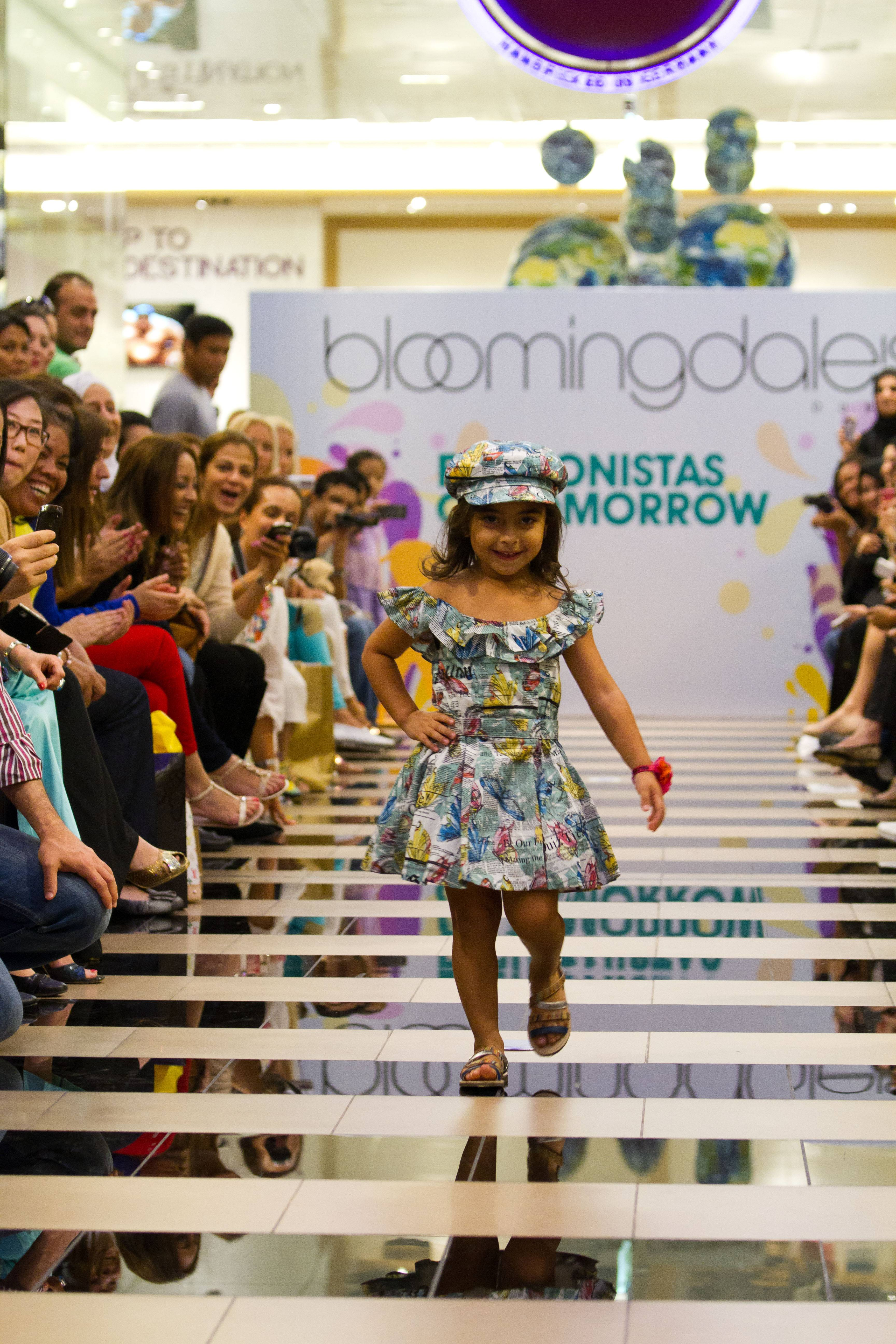 Music For Fashion Show For Kids Dance music echoed from level
