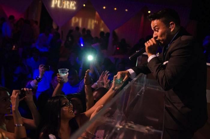 Frankie J performs at Pure Nightclub. Photos: Karl Larson/Powers Imagery LLC